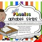 This Jolly Phonics alphabet strip gives extra support for those students who have difficulty seeing the classroom reference to have a visual right ...