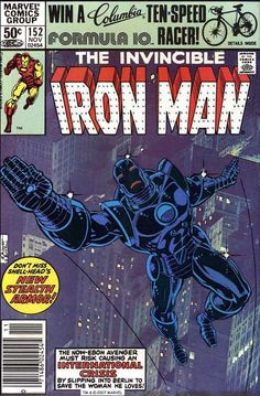 Iron Man #152, November 1981, cover by Bob Layton and Eliot R. Brown