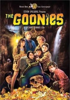 The Goonies . Goonies never say die! The Goonies ROCK! Film Music Books, Music Tv, Os Goonies, Cinema Tv, Bon Film, Movies Worth Watching, See Movie, The Girl Movie, About Time Movie