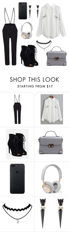 """""""Smart Casual #2"""" by ruby-eliza-lewis ❤ liked on Polyvore featuring JustFab, B&O Play and Alexis Bittar"""