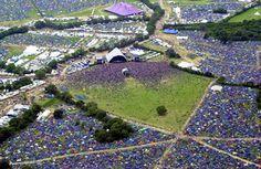 Glastonbury festival (AP)