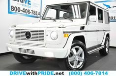 2008 Mercedes-Benz G-Class G500 4MATIC 4WD HK NAV PDC CAM HTD LEATHER STS SUNROOF 800-844-9959  http://www.drivewithpride.net/web/used/Mercedes-Benz-G-Class-2008-Houston-Texas/28154505/