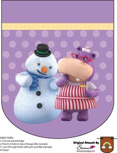 Banner, Doc McStuffins, Party Decorations - Free Printable Ideas from Family Shoppingbag.com