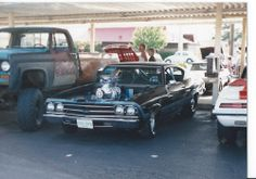 My 69 Chevelle at A&W Hot Rod Nationals (Nick Chicone ) This car is a Copo Body  (This is the Car in the News )