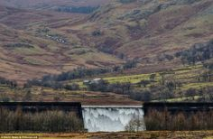 Flooding in UK Jan 2014..now reservoir overflowing in Cumbria