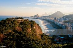 A general view of the Copacabana beach ahead of the FIFA Confederations Cup Brazil 2013 on June 6, 2013 in Rio de Janeiro, Brazil.