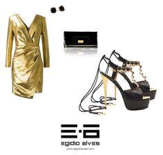 """EGÍDIO ALVES LUXURY SHOES ❤️👠🇵🇹"" by egidioalvesluxuryshoes on Polyvore featuring Yves Saint Laurent and Kate Spade"
