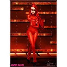 "Ariel as ""Oops I Did it Again"" Britney: | Community Post: An Artist Reimagined Disney Princesses As Britney Spears"