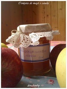 donabimby: Compota de maçã e canela