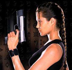"""Tomb Raider"" - Lara Croft, played by Angelina Jolie."