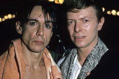 Iggy e Bowie,