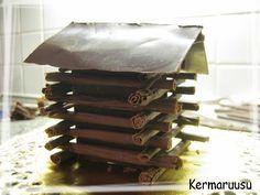 Täytekakkupohja - Kermaruusu - Vuodatus.net Candy, Chocolate, Food, Essen, Chocolates, Meals, Sweets, Candy Bars, Brown