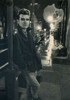 "daaramfavs:    Morrissey from: The Smiths.  From one of the very first article+interview I've read about:  The Smiths in a French magazine called: ""Actuel"" in 1983.Photo: Daniel LainéScanned from my personal archives, Olivier Daaram 04/2011"