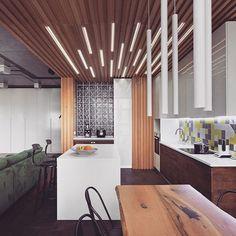 Revestir o forro com madeira dermacam um ambiente, ele pode começar na parede e…
