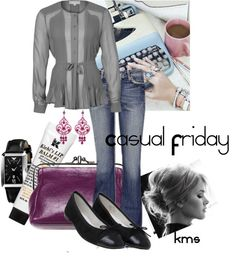 """Casual Friday"" by karalexislv on Polyvore"