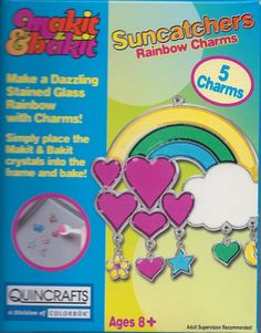Rainbow with Charms Sun Catcher $5.00