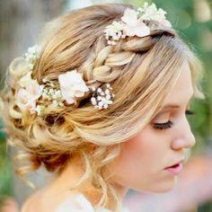vintage inspired june wedding colors | Heavenly Vintage Wedding Blog: vintage-inspired hairstyles, 1970s ...