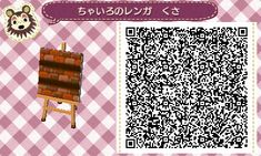 cocoa village forest diary (Animal Crossing: New Leaf) brown brick stairs. -> 2 go w/ Simple Pond<- http://cocoamura1diary.blog.fc2.com/blog-entry-51.html