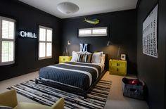 Voilà mon inspiration des murs noirs. :)