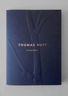 Thomas Ruff Business Card Design by Atelier Dyakova Print Design Luxury Graphic Design, Logo Design, Design Poster, Web Design, Typography Design, Layout Design, Print Design, Branding Design, Graphic Design Books