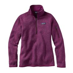 Either this color or the other steel blue - W's Better Sweater® 1/4-Zip, Violet Red (VIO)