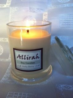 Christmas Candles from Allirah Soy Candles