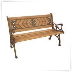 Garden Treasures Steel Park Bench Lowes Canada