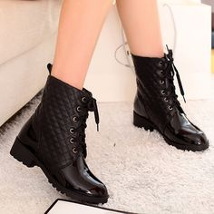black boots,fashion lacing riding boots,womens motorcycle boots,biker boots