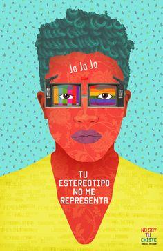 No Soy Tu Chiste es una campaña sobre sensibilización de la comunidad LGBTI por medio del Arte...