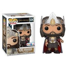 Funko King Aragorn, Toys R Us Exclusive, The Lord of the Rings, O Senhor dos Anéis, Funkomania