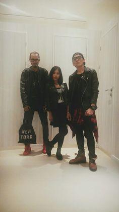 Grunge style.