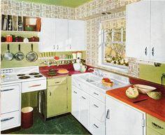 Kitchen 1957 | Flickr - Photo Sharing!