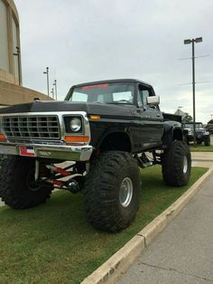 70 best Ideas for tonka truck tattoo sweets Big Ford Trucks, 1979 Ford Truck, Classic Ford Trucks, Lifted Trucks, Cool Trucks, Pickup Trucks, Ford F150 Pickup, Ford 4x4, Chevy Bronco