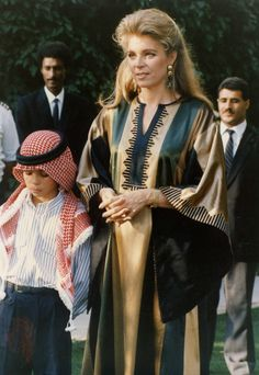 American by birth, Queen Noor of Jordan (b. August 23, 1951 in Washington D.C.) is the last wife and widow of King Hussein of Jordan. She ...