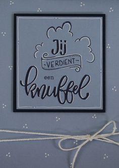 Wat zijn die stempels van Karin Joan toch prachtig! Marjolein maakte er deze 3 kaarten en een kadolabel mee.