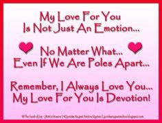 My Love For You ©Jyotika Rajput Mehra Quotes