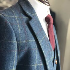 UK's largest collection of tweed suits. Our tweed suits are well tailored using the Traditional British Tweed fabric into a classy modern style. Blue Tweed Suit, 3 Piece Tweed Suit, Mens Tweed Suit, Tweed Suits, Plaid Suit, Tweed Jacket, Mens Suits, Suit Jacket, Tweed Outfit