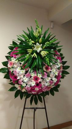 Ring of Glory. Funeral Bouquet, Funeral Flowers, Wedding Flowers, Funeral Floral Arrangements, Flower Arrangements, Casket Flowers, Funeral Sprays, Cemetery Decorations, Modern Floral Design