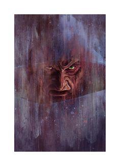 Artist Reimagines Freddy Krueger as Expressionist Paintings - Popcorn Horror Jason Voorhees, Michael Myers, Freddy Krueger, Horror Icons, Movie Wallpapers, Nightmare On Elm Street, Geek Art, Character Portraits, Illustrations
