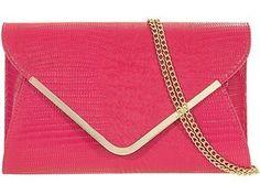 Haute pour femme Imprimé Animal Diva's Pochette de soirée Pochette sac à main pour mariage - - rose, Taille unique