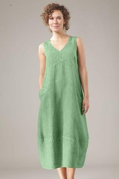 Wonda dress from OSKA New York 100% linen