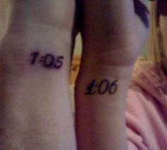 31 Insanely Cool And Adorable Matching Tattoos For Twins If only my brother would do something like this with me when we grow up.