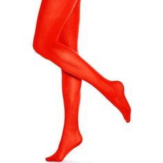 Hue Opaque Tights ($15) ❤ liked on Polyvore featuring intimates, hosiery, tights, apple red, red pantyhose, hue stockings, opaque stockings, opaque hosiery and hue tights