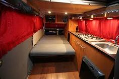 The bar has been raised for what is possible in a Westy. You thought you had custom cabinets in your Westy? Check out this gorgeous custom wood interior. Vw Vanagon, Vw T1, Volkswagen Transporter, T3 Camper, Camper Van, Motorhome, Combi T1, Vw Camping, Glamping