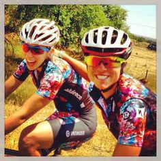 Evelyn Stevens is happy to be back in Boulder, Colorado. Those Special Edition kits are rad!