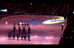 She Couldn't Keep Singing U.S. National Anthem. What These Canadian Fans Did Next Is Unbelievable