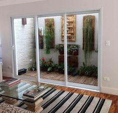 Modelos de jardim de inverno para sala de estar #SalaEstar