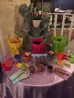 Garden Theme Birthday