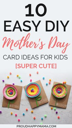 If you are looking for the perfect Mother's Day card ideas to make mom feel extra special this Mother's Day, then you can't go past a homemade card! Fun Activities For Kids, Motor Activities, Family Activities, Diy Crafts For Kids, Mother's Day Diy, Mothers Day Crafts, Teacher Tips, Good Parenting, Raising Kids