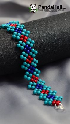 Beaded bracelet and necklace inspiration. Made by beadweaving seed beads with pearl or round beads. Bead jewellery making Beaded bracelet and necklace inspiration. Made by beadweaving seed beads with pearl or round beads. Beaded Bracelet Patterns, Beading Patterns, Beaded Earrings, Beaded Bracelets, Beaded Bead, Embroidery Bracelets, Beading Ideas, Loom Patterns, Beading Tutorials